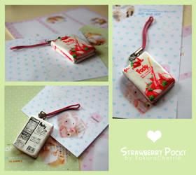 Strawberry Pocky by SakuraCherrie