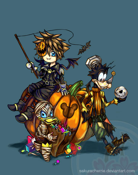 Kingdom Hearts - Halloween