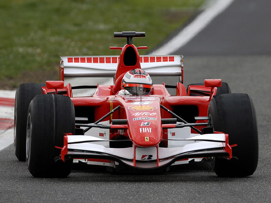 Ferrari F1 2007 Test Car By Djkennyc On Deviantart