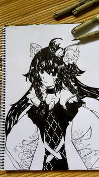2015-06-01: Ink drawing practice