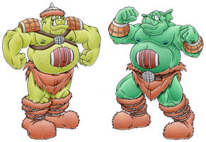 The Beer Monsters by MatthewSmith