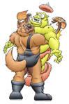 Commission: Oso vs Mozgrog
