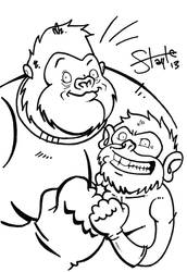 The Great Ape Gallery 11 by MatthewSmith