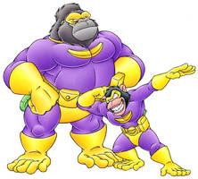 Apeman and Monkeyboy by MatthewSmith