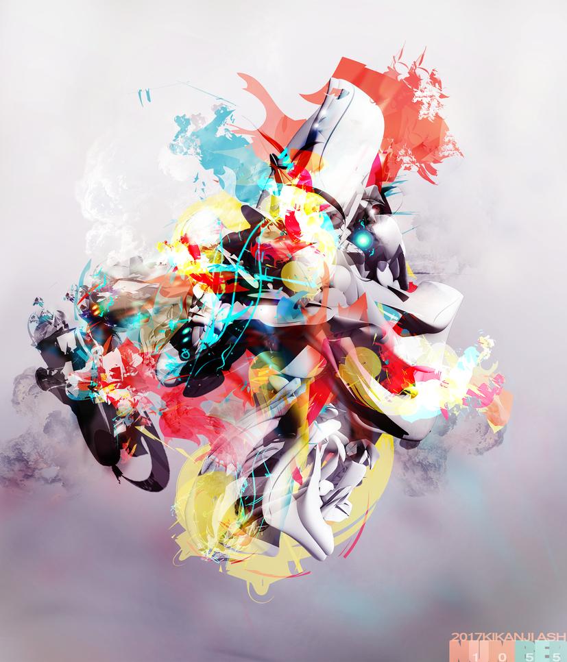 ___number 1055 by kikanji