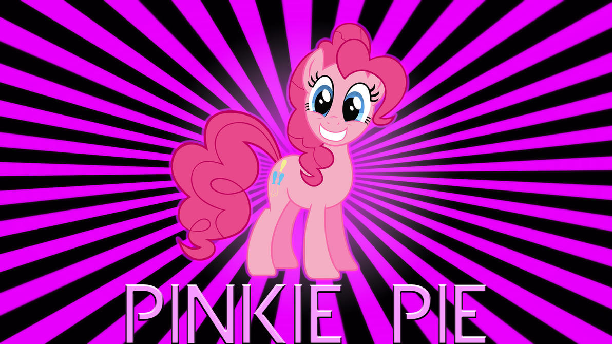 Pinkie Pie starburst by BronyYAY123