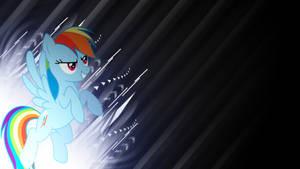 Rainbow Dash grunge background by BronyYAY123