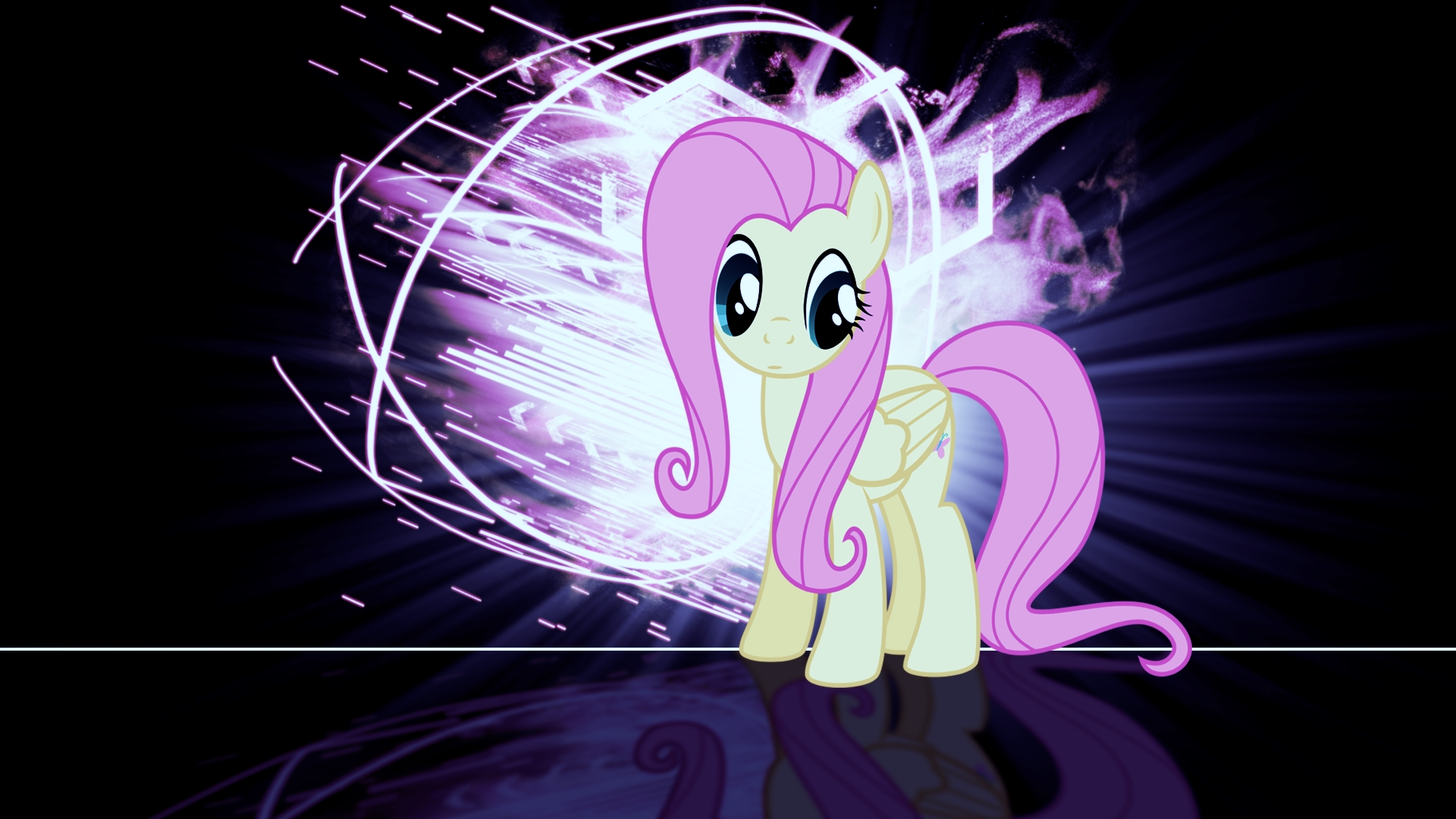Fluttershy burst 3 colour corrected by BronyYAY123