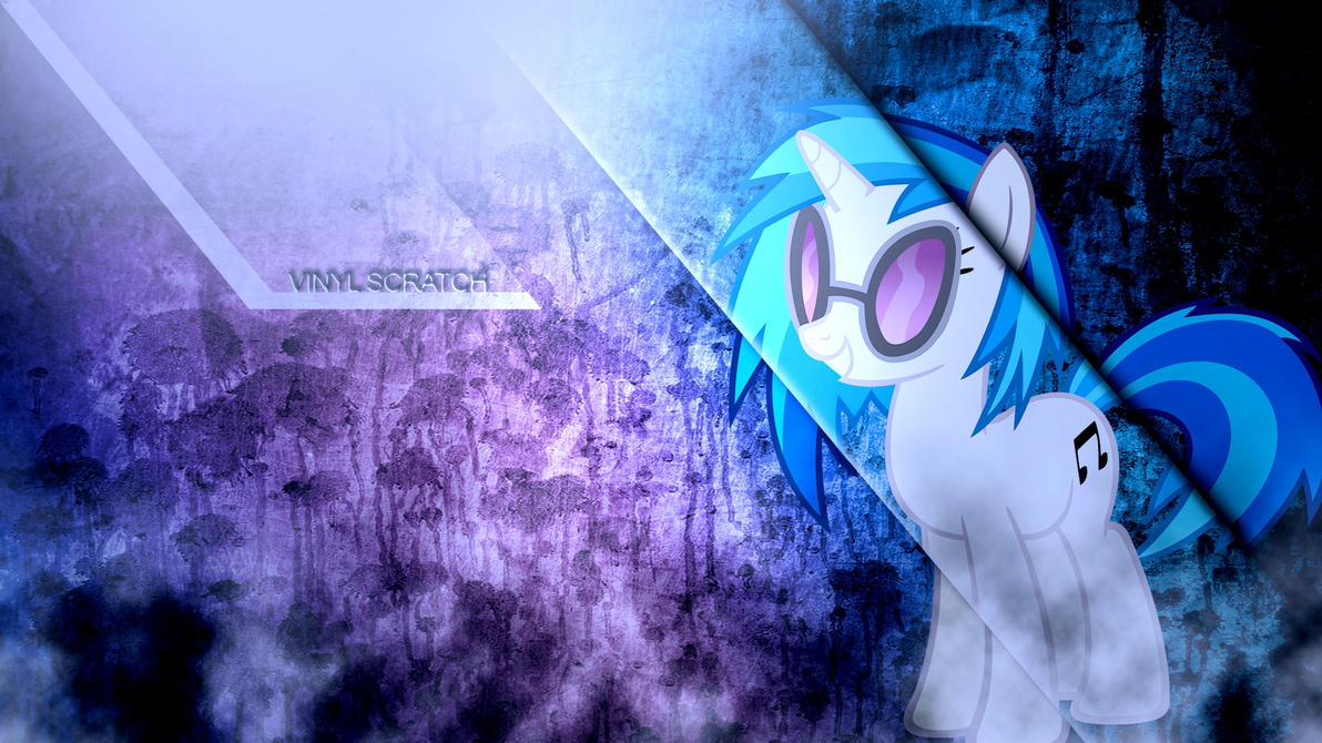 Vinyl Scratch smoke and mirrors colour corrected by BronyYAY123