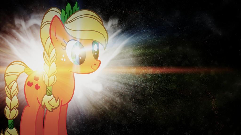 AJ starburst with lens flare by BronyYAY123