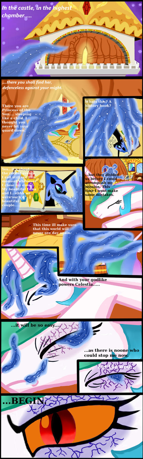 MLP: FIM Rising Darkness page 2 by Bonaxor