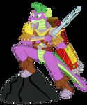 Spike The Dragon Guard