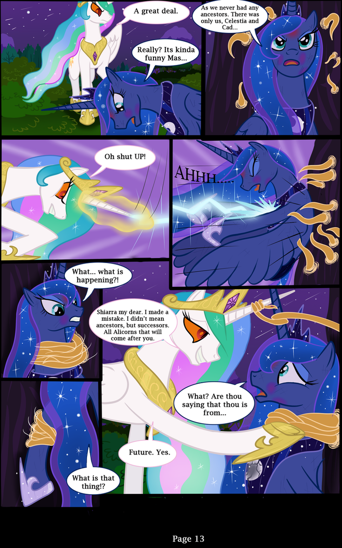 Mlp Fim Rising Darkness Page 13 By Bonaxor On Deviantart