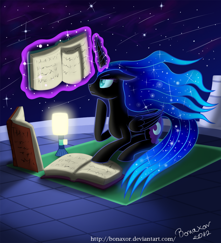 Me and my Books by Bonaxor