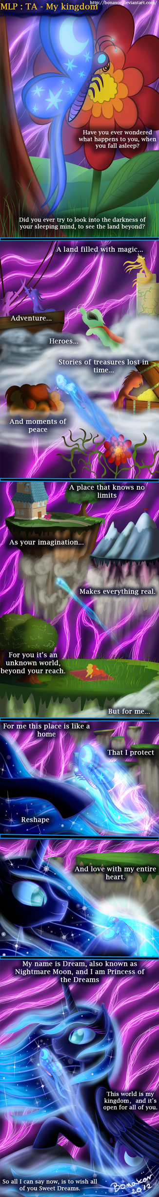 MLP: TA - My kingdom by Bonaxor