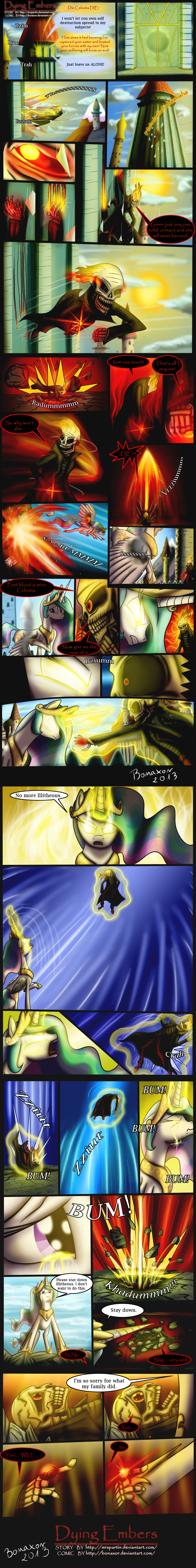 MLP - Dying Embers part 2 by Bonaxor