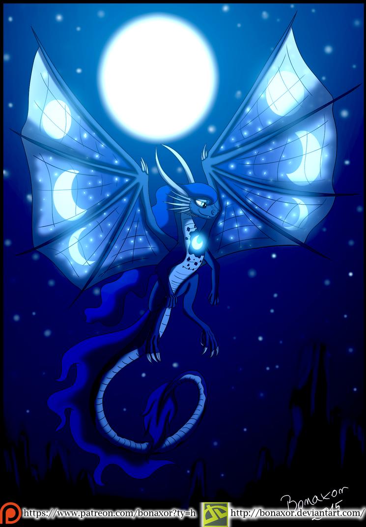 Luna Dragon by Bonaxor