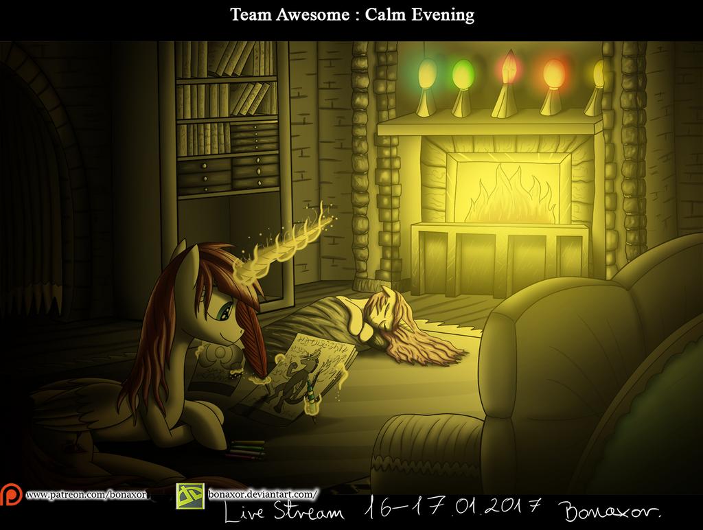 TA - Calm Evening by Bonaxor