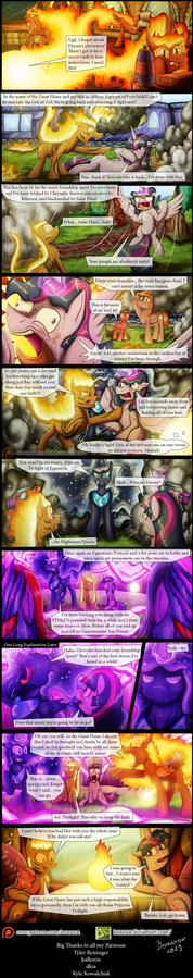 The Greater Flame #26: Twilight Loses Her Mind