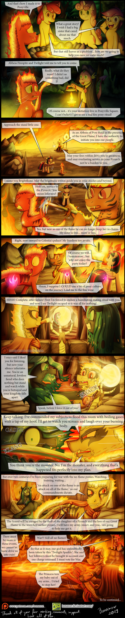 The Greater Flame Epilogue #1: Rising Fires