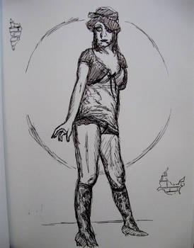 Figure Drawing Girl