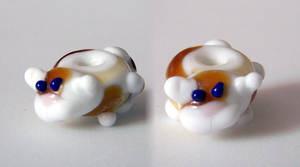 Kitty-cat bead by jo-the-phoenix