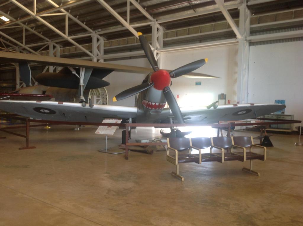 Aeroplane museum part 1 by blueshinewolfstar1