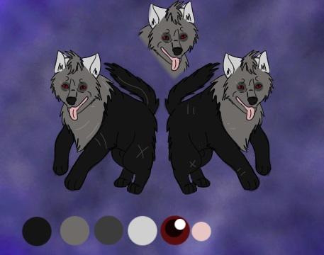 Dawn fearl ref sheet by blueshinewolfstar1