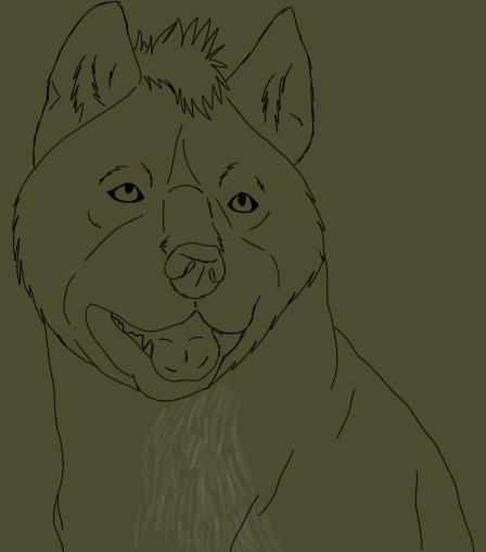 Detailed Lynx headshot WIp by blueshinewolfstar1