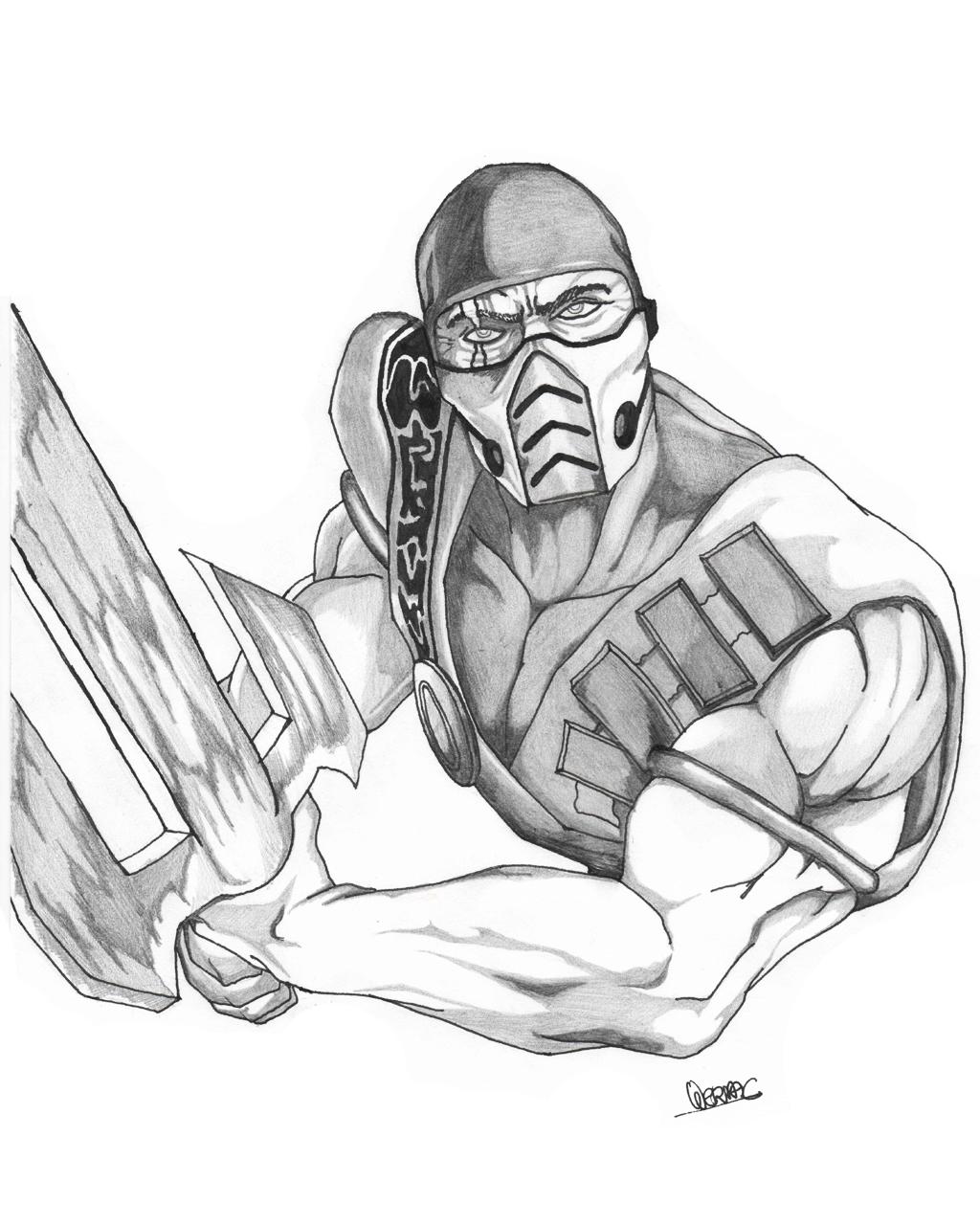 Sub-Zero - Mortal Kombat by WermaC on DeviantArt