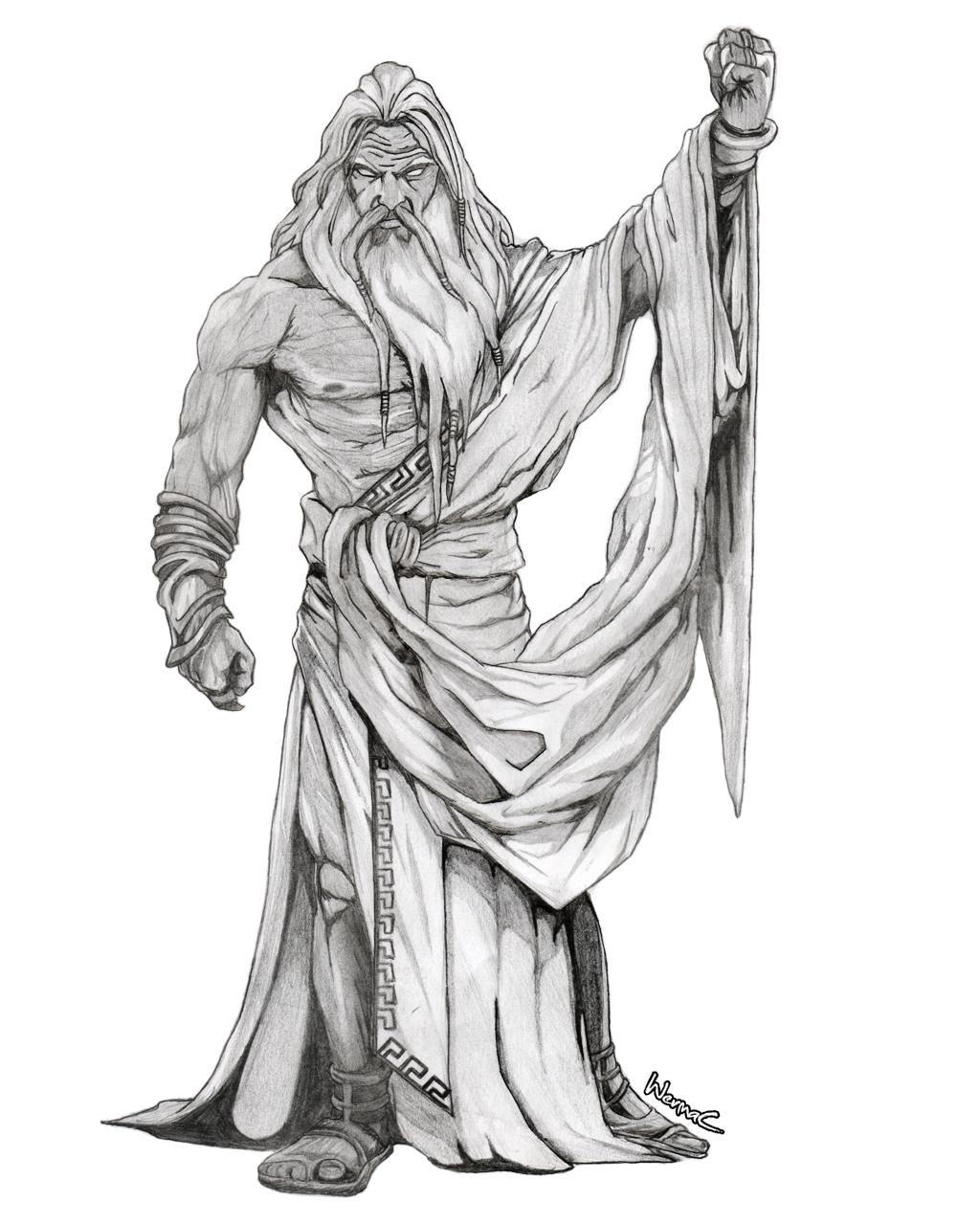 Zeus Line Drawing : Zeus sketch pixshark images galleries with a bite