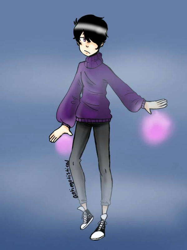 psychic boi by KaeTheRadish
