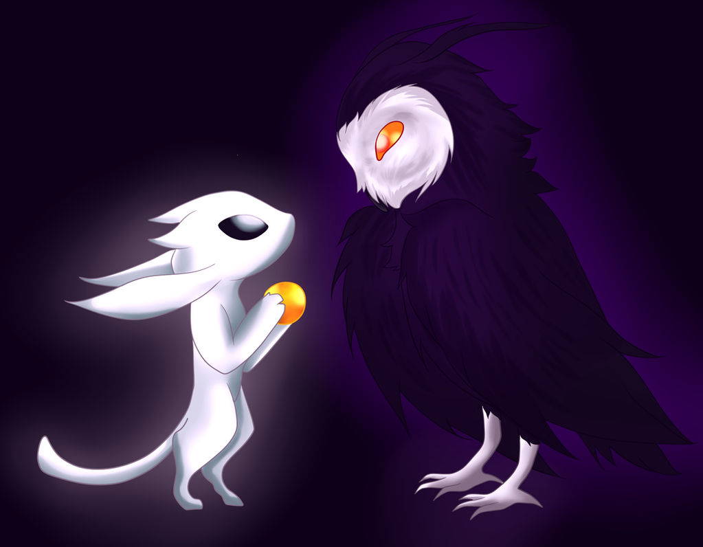 Ori and the Will of the Wisps (Fanart) by InuSketch on