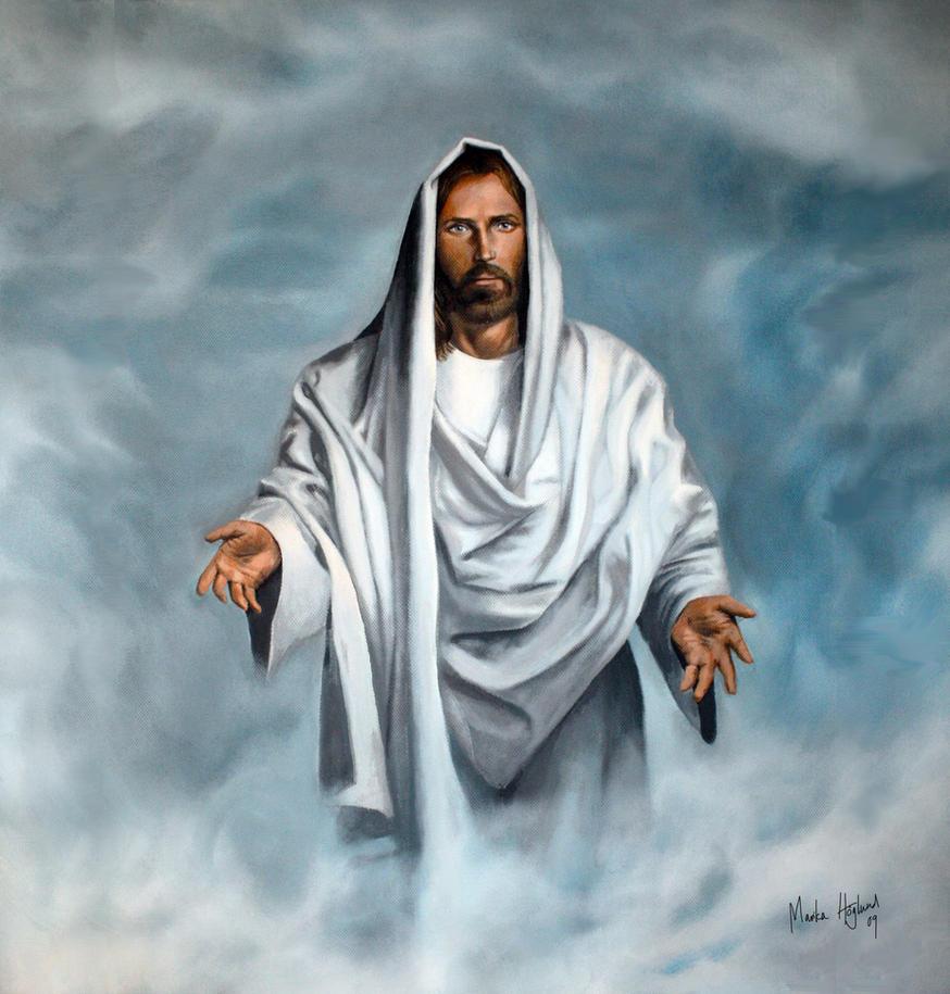 Jesus Christ by MonsterMarika