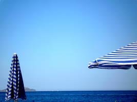 Greek Umbrellas