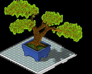 Pixel bonsai by jeroenc