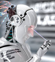 Robot ChipReader by Bergie81