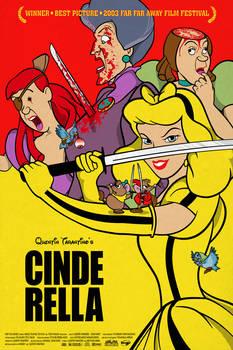 Pop Art Movie Mashup: Kill Bill Cinderella