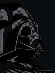 Star Wars PopArt - Vader black