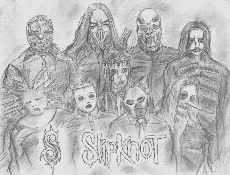 Slipknot By Ragnarok Exd On Deviantart