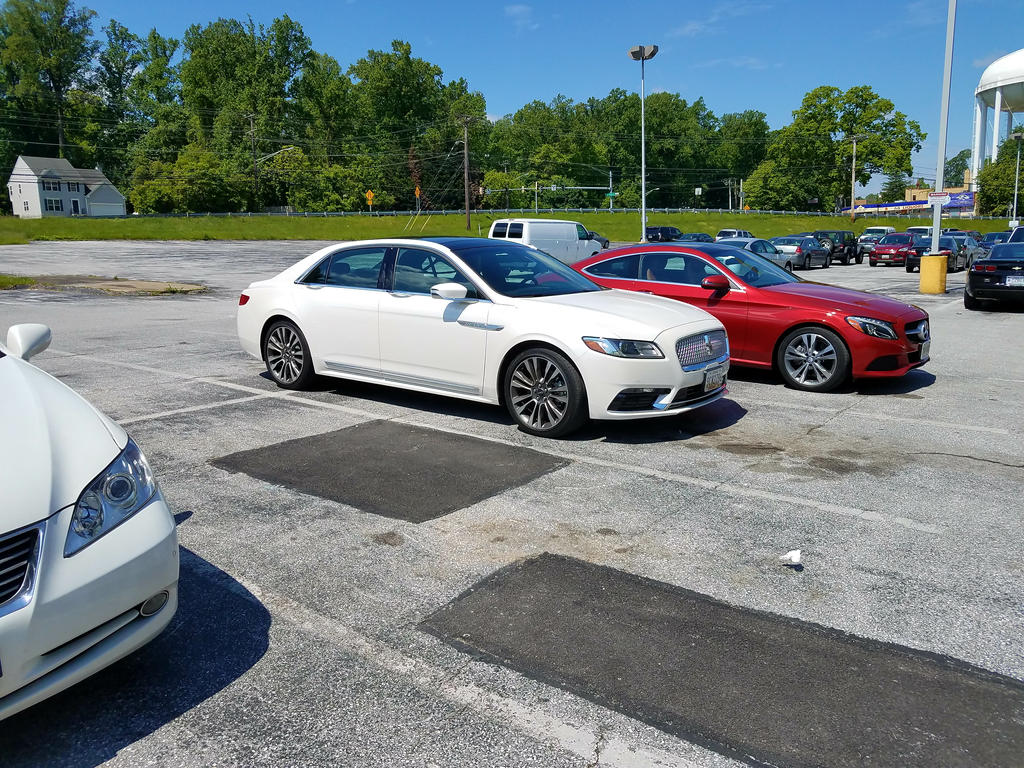 2017 lincoln continental and mercedes benz c300 by for Mercedes benz lincoln