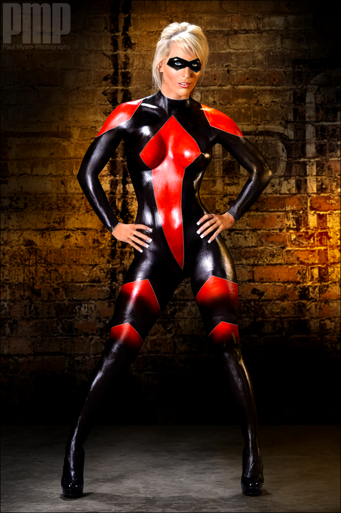 Body Paint Cosplayers
