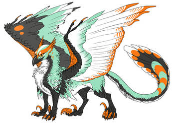 Gryphon design by Tikall