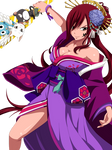 Erza Commission 23 Coloring