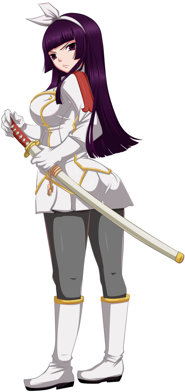 Kagura Commission 2 Coloring by Planeptune on DeviantArt