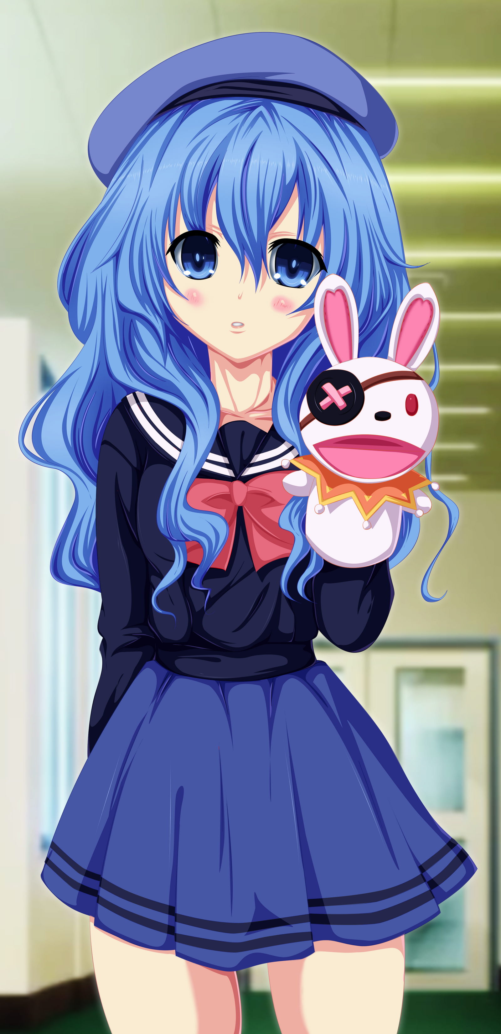 Yoshino Commission 7 Coloring By Planeptune On Deviantart