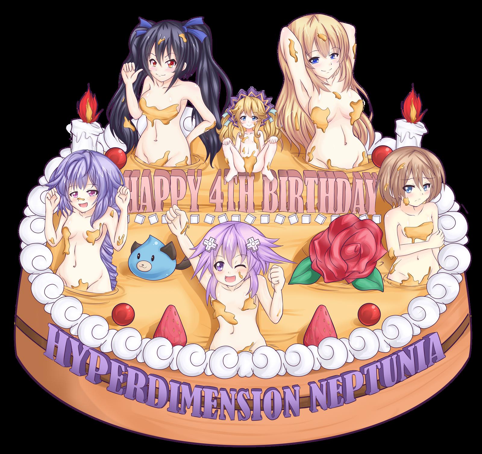 Bildergebnis für hyperdimension neptunia neptune birthday