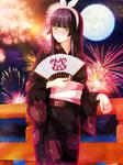 Kagura Commission 5 V4 Coloring