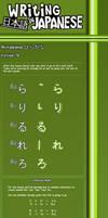 Writing Japanese- Lesson 9