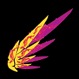 Phoenix Wing/Ashes of Al'ar Mercy Wing Subs Emoji by AranyaVerSarn
